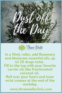 Rosemary and Marjoram Essential Oil Blend